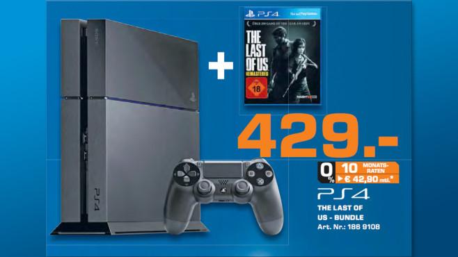 """Playstation 4 """"The Last of Us""""-Bundle ©Saturn"""