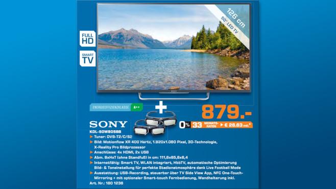 Sony KDL-50W805B ©Saturn