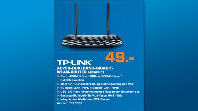 TP-Link  AC750 ©Saturn
