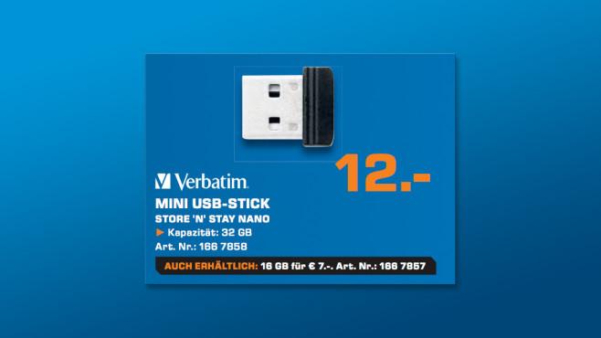 Verbatim Store 'n' Stay Nano ©Saturn