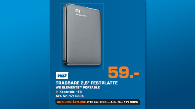 WD Elements Portable © Saturn