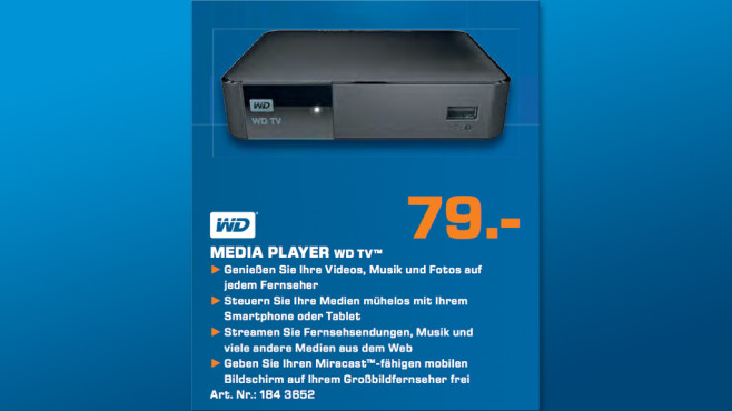WD Media Player WD TV ©Saturn