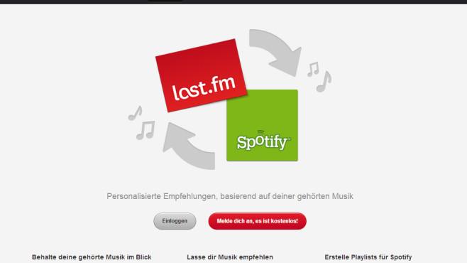 Personalisierte Musikempfehlungen (Desktop) ©COMPUTER BILD