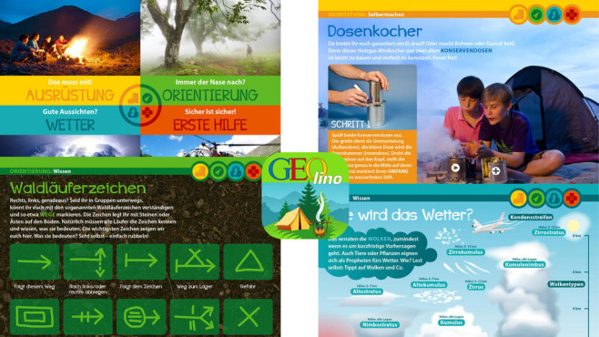 Geolino: Nix wie raus – Wissen für die Wildnis ©Gruner+Jahr AG