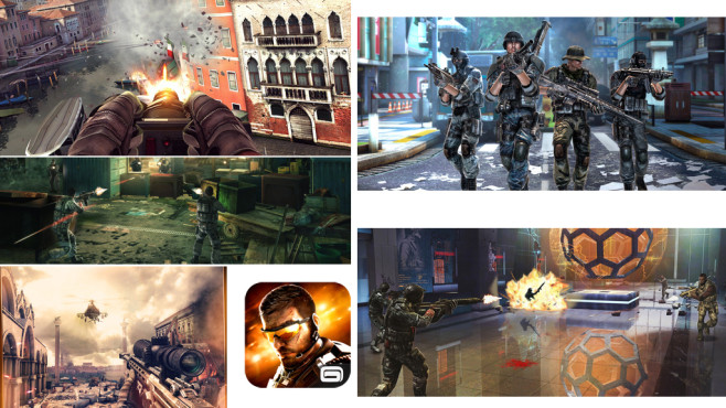 Modern Combat 5 – Blackout ©Gameloft