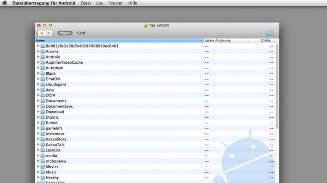 Datentransfer von Android zu Mac ©COMPUTER BILD