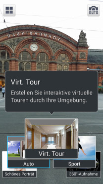 Samsung Galaxy Note 3: Einfacher Virtuelle Tour © COMPUTER BILD
