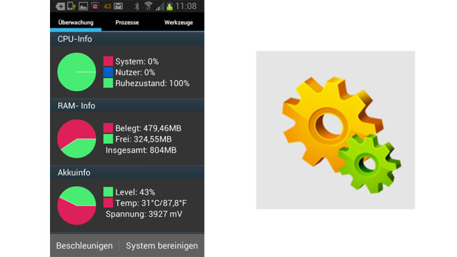 Android Assistant Pro im Test © Aaron.