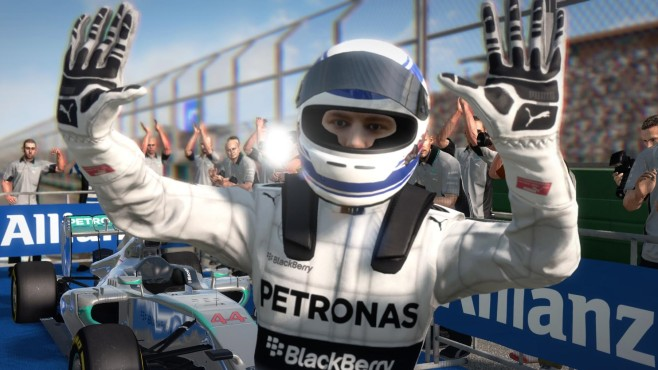 F1 2014: Jubel © Codemasters