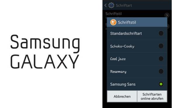 Schriftarten ändern: So geht's mit dem Samsung-Smartphone ©COMPUTER BILD