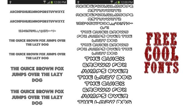 Free Cool Fonts ©Fonts Free
