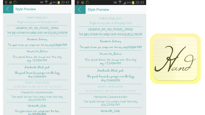 download girly fonts for android