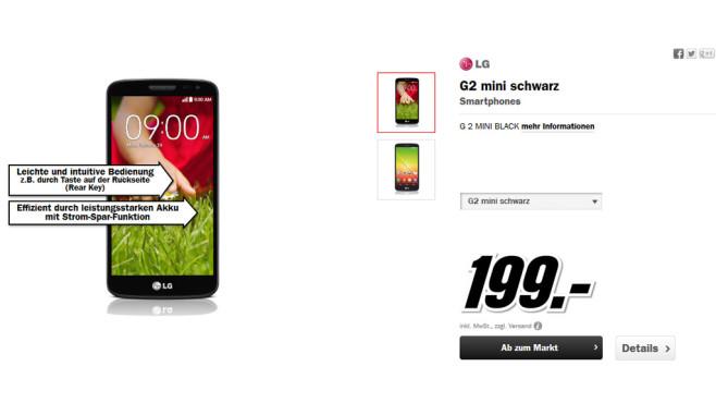 LG G2 mini ©Media Markt