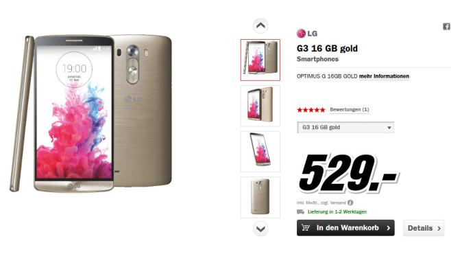 LG G3 ©Media Markt
