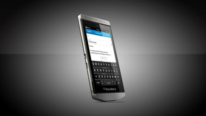 Blackberry Porsche Design (P'9982) © Blackberry