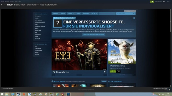 Steam: Einstellungen © Valve