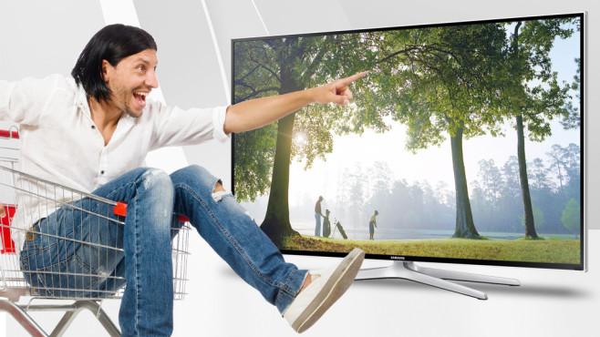 Die Geräte will jeder: Die beliebtesten Samsung-Fernseher Diese Glotzen will jeder: COMPUTER BILD hat für Sie die beliebtesten Samsung-Fernseher ermittelt und zeigt Ihnen den besten Preis. ©Samsung, Elnur - Fotolia.com, Max Krasnov - Fotolia.com
