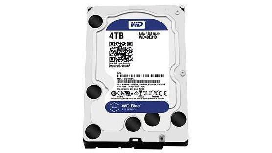 Western Digital Blue SSHD 4TB (WD40E31X) © Western Digital