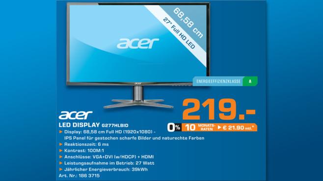Acer G277HLbid ©Saturn