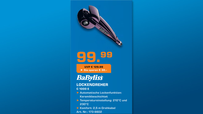 BaByliss Curl Secret C1000E © Saturn