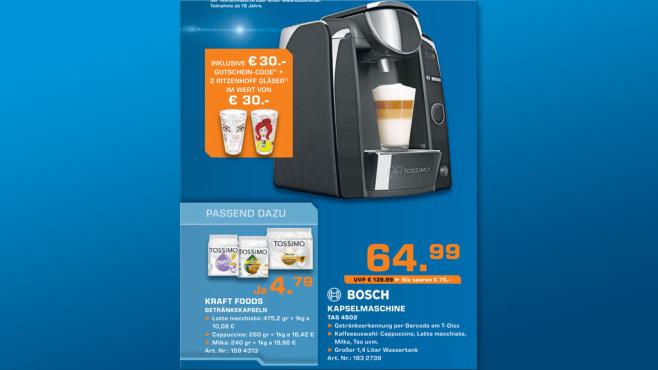 Bosch TAS4502J10 ©Saturn