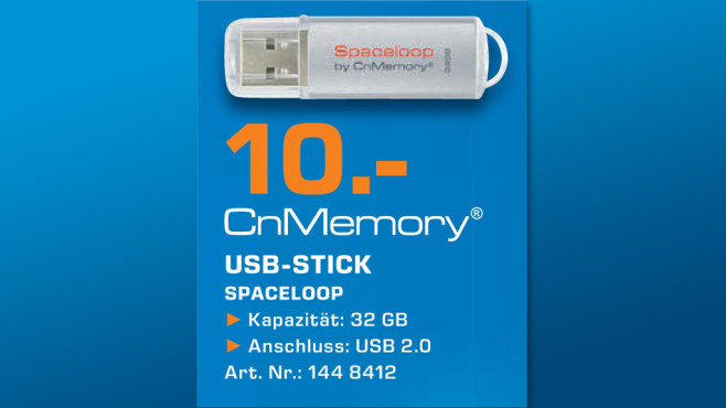 CnMemory Spaceloop USB 2.0 32GB © Saturn