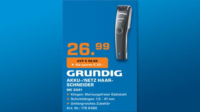 Grundig MC 3341 ©Saturn
