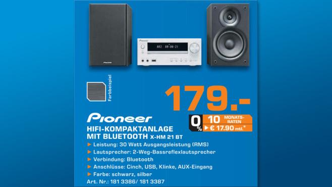 Pioneer X-HM21BT-K ©Saturn