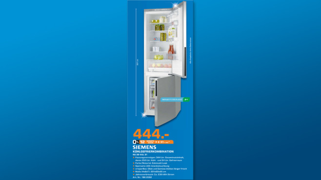 Siemens KG39VUL31 ©Saturn