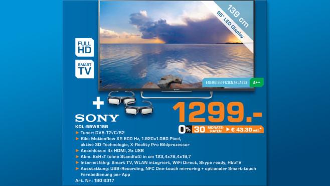 Sony KDL-55W815BSAE2 ©Saturn
