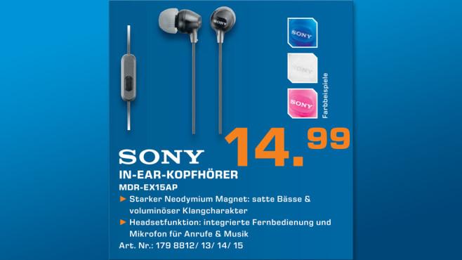 Sony MDR-EX15 ©Saturn