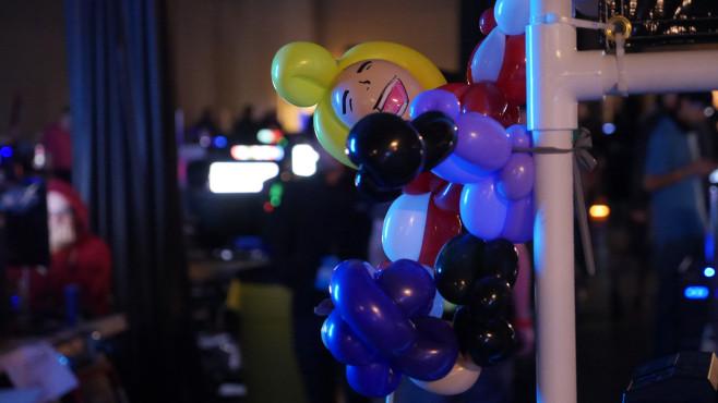 QuakeCon 2014: Luftballon ©COMPUTER BILD SPIELE