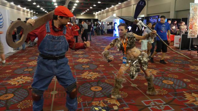 QuakeCon 2014: Mario ©COMPUTER BILD SPIELE