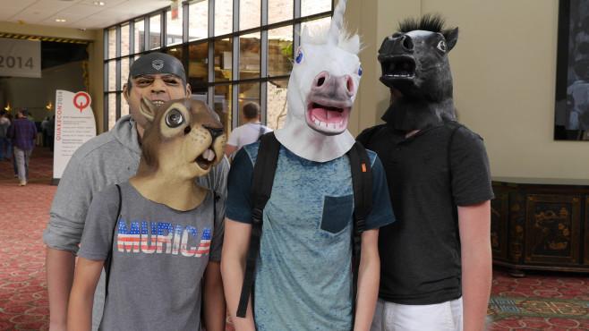 QuakeCon 2014: Pferd ©COMPUTER BILD SPIELE