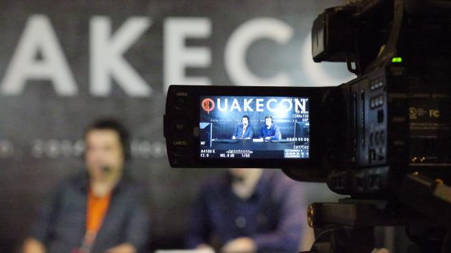 QuakeCon 2014: TV ©COMPUTER BILD SPIELE