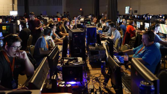 QuakeCon 2014: Viele ©COMPUTER BILD SPIELE