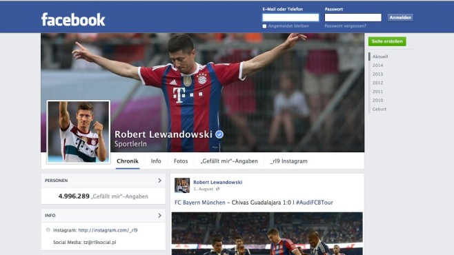Robert Lewandowski © Robert Lewandowski