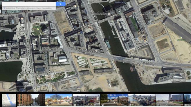 So reisen Sie mit Google Maps durch das Weltall ©Google
