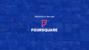 Neue App-Version bei Foursquare © Screenshot: foursquare.com