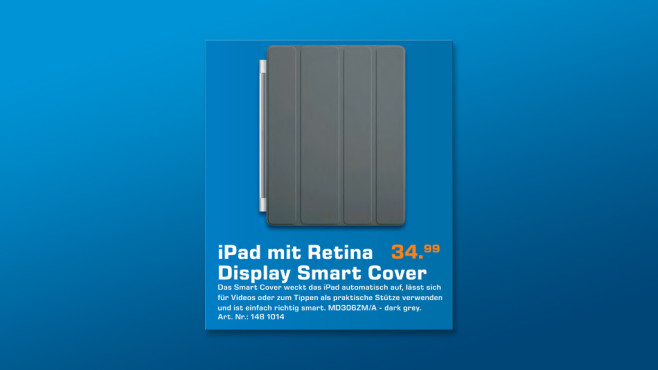 Apple Smart Cover für iPad © Saturn