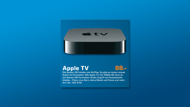 Apple TV © Saturn