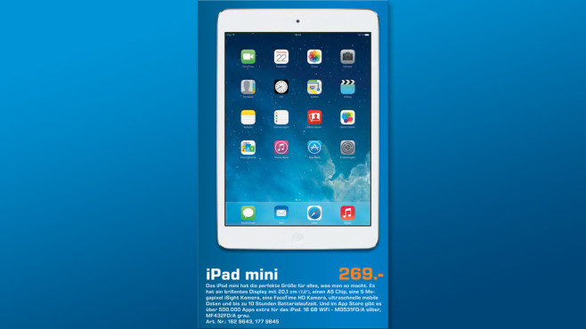 Apple iPad mini 16GB WiFi © Saturn