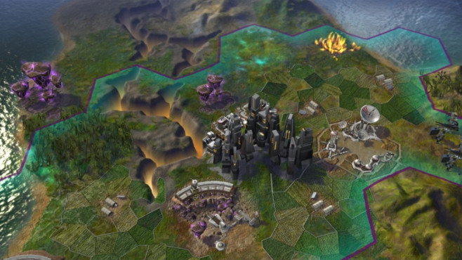 Civilization � Beyond Earth: Karte © Take-Two