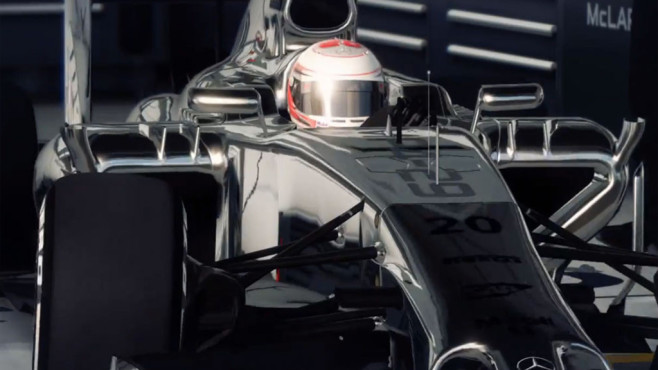 F1 2014: Mercedes © Codemasters