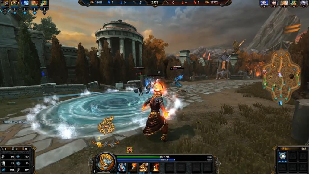 in smite waehlen sie helden aus der mythologie screenshot aus der pc