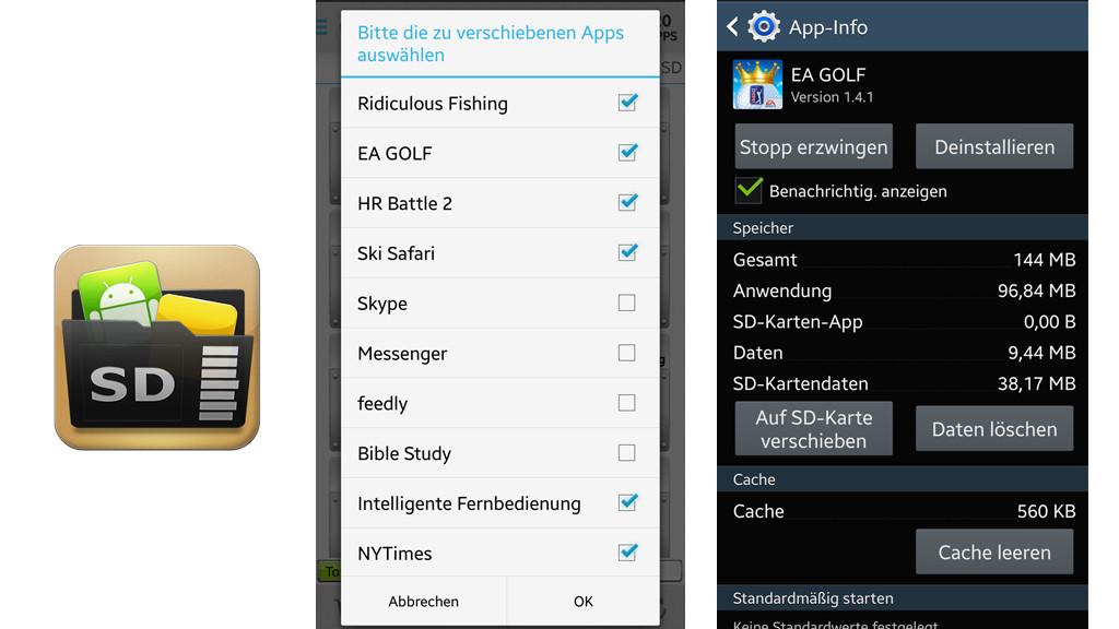 app auf sd karte verschieben android 7 Apps auf SD Karte verschieben   so geht's!