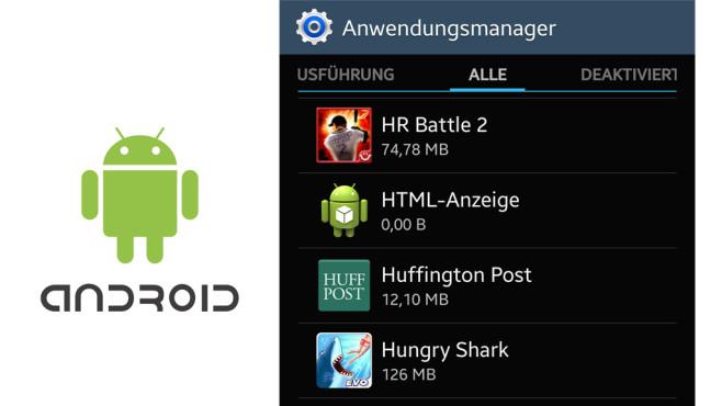 Android: Apps auf SD-Karte verschieben ©COMPUTER BILD