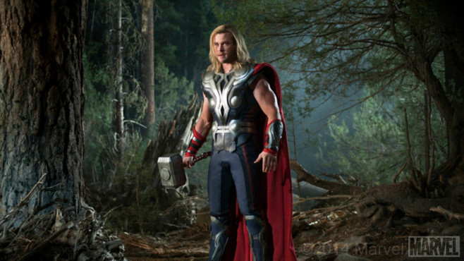 Chris Hemsworth – Marvel's The Avengers © 2012 Marvel