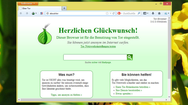 Tor-Browser-Paket ©COMPUTER BILD