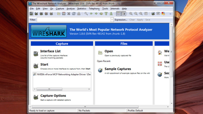 Wireshark © COMPUTER BILD